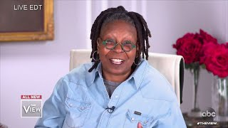 Whoopi Goldberg Co-Hosts 'The View' From Home as a Precaution | The View