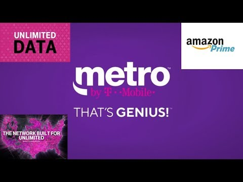 MetroPCS Renamed to Metro By T-Mobile (New Unlimited Plans and Amazon Prime) HD