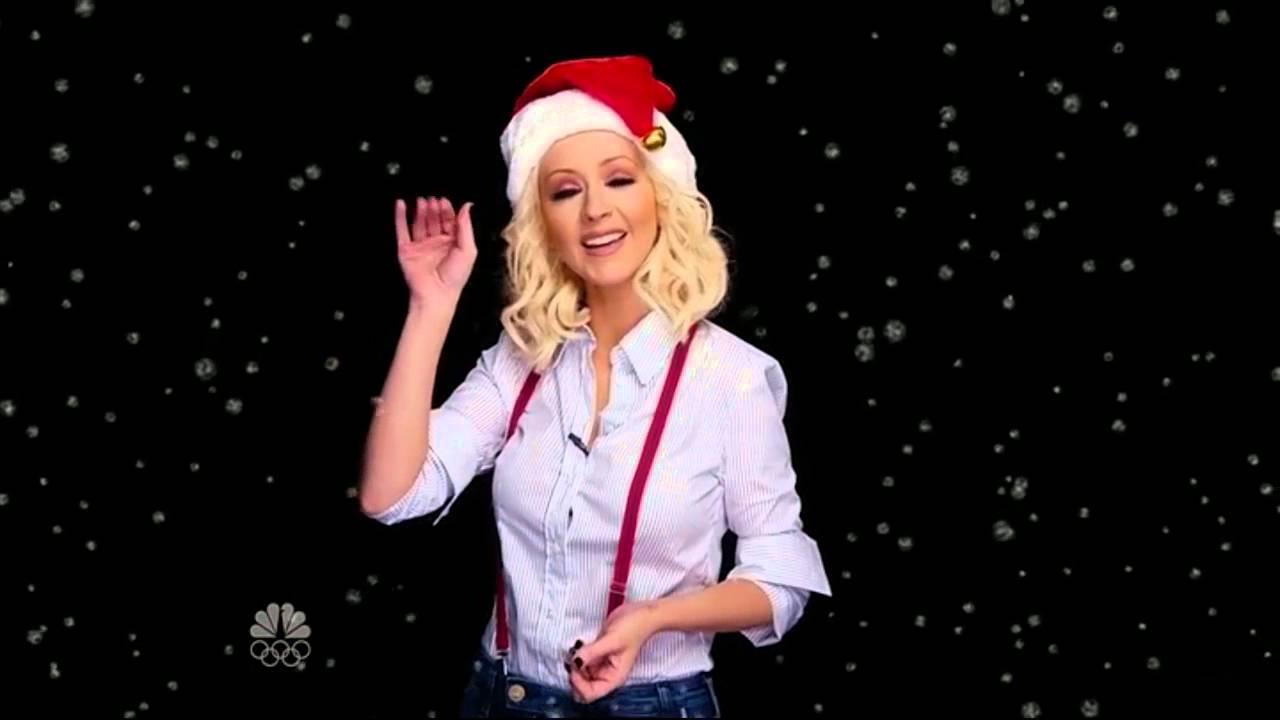 christina aguilera merry christmas youtube