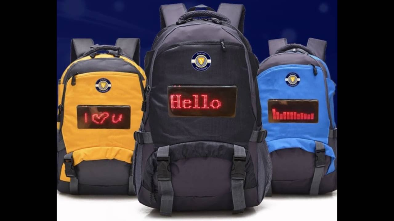 Best Selling - Smart LED Backpack by Young Leaders USA (Patent ...