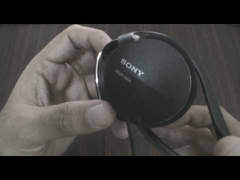 Sony Street Style MDR G-55 Headset Review