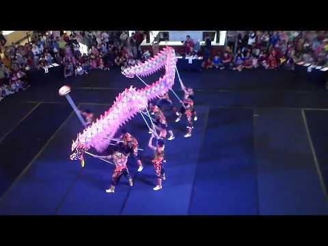 ATRAKSI  NAGA SAN GUO - Jogja Dragon Festival(JDF) 2018-  #PBTY2018
