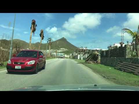 St. Maarten Little Bay to Welgelegen road