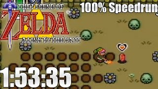 Link to the Past - 100% Speedrun in 1:53:35