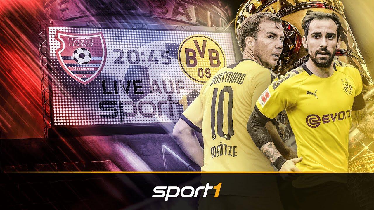 So will der BVB das erste Pokalspiel gegen KFC Uerdingen gewinnen | SPORT1