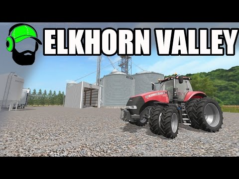 Farming Simulator 17 - ElkHorn Valley Map - A little Nebraska
