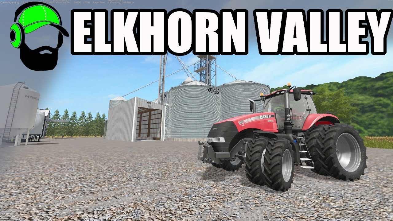 Farming Simulator 17 - ElkHorn Valley Map - A little Nebraska
