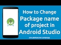 How to Change Android Studio Project Package Name without Errors