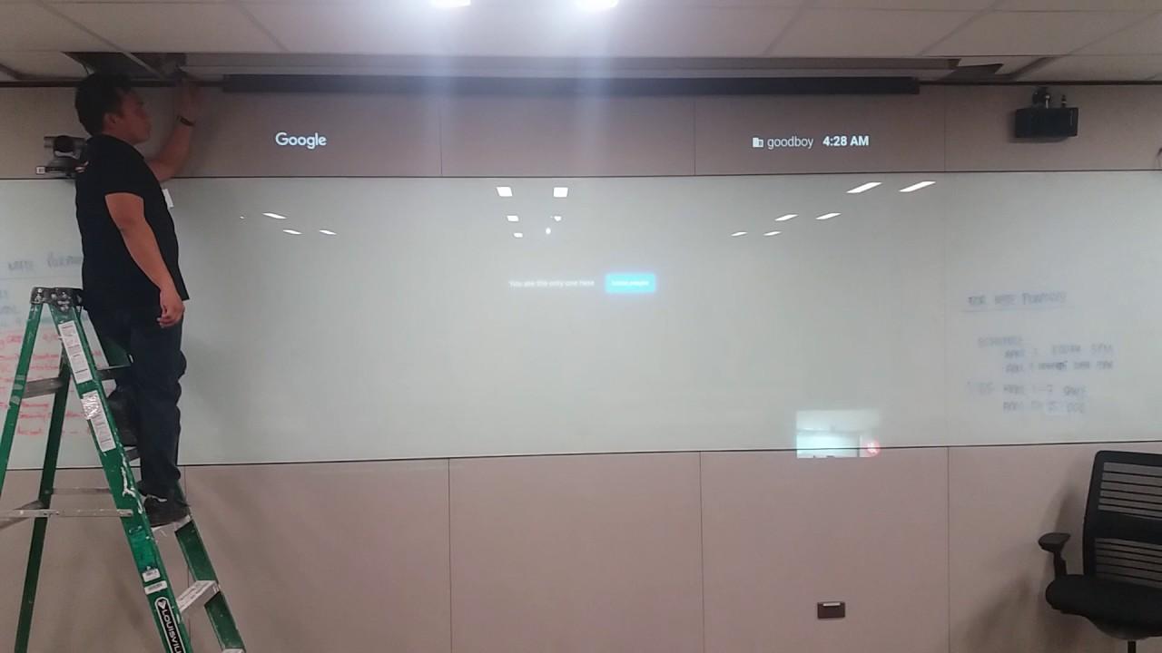DaLite Projector Screen YouTube - Da lite tile