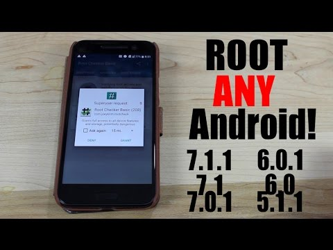 application root android 7.1