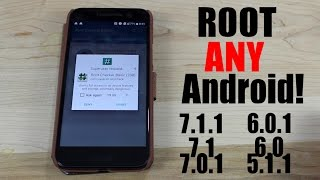 Root ANY Android One Click 7.1.1, 7.0.1, 6.0.1, 6.0, 5.1.1, 5.1