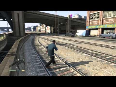 GTA 5 (Grand Theft Auto V) - Первый запуск, смотр, впечатления!