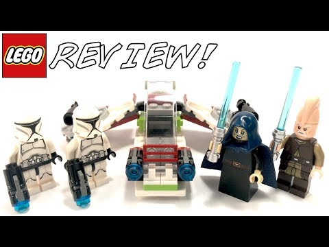 LEGO Star Wars 75206 Jedi And Clone Troopers Battle Pack Review!