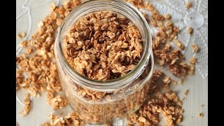Apple Cinnamon Granola Recipe (vegan And Gluten Free)