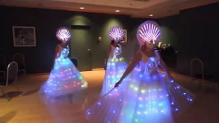 TC 049 Led Light Dress For Stage Performance Dance