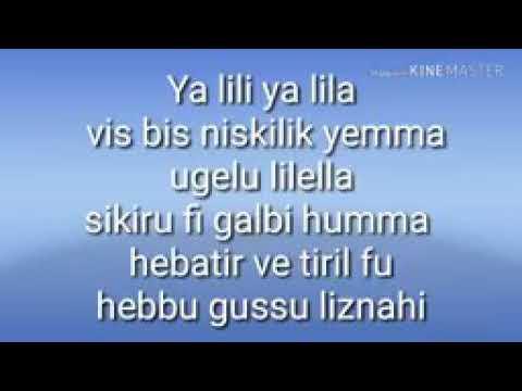 Yalili Yalila Lyrics Song