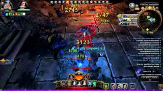 Neverwinter Gameplay Devoted Cleric 2015 PC