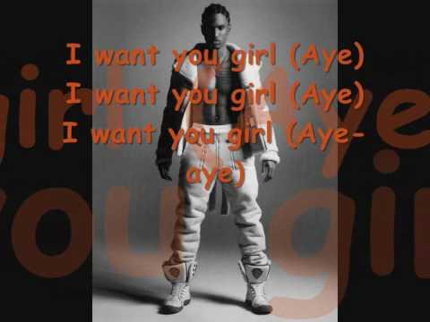 I Want You Lyrics ~ Trey Songz New 2010 HQ