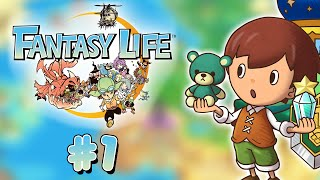 Let's Play FR HD Fantasy Life #1 - Créons notre personnage !