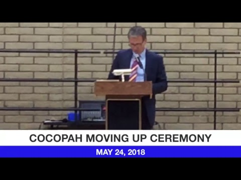 Cocopah Middle School Moving Up Ceremony 2018