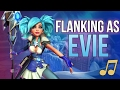 Paladins Song - Flanking As Evie (walk The Moon - Shut Up And Dance Parody) ♪ video