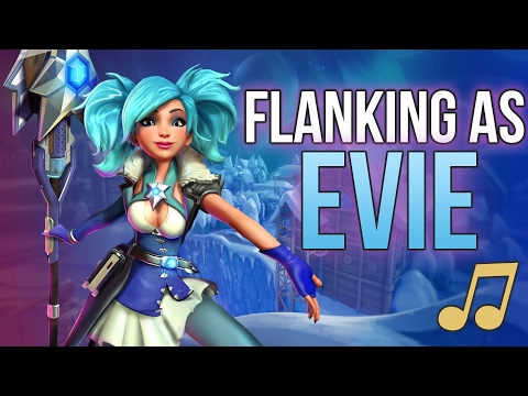 Paladins Song - Flanking as Evie (Walk The Moon - Shut Up and Dance PARODY) ♪