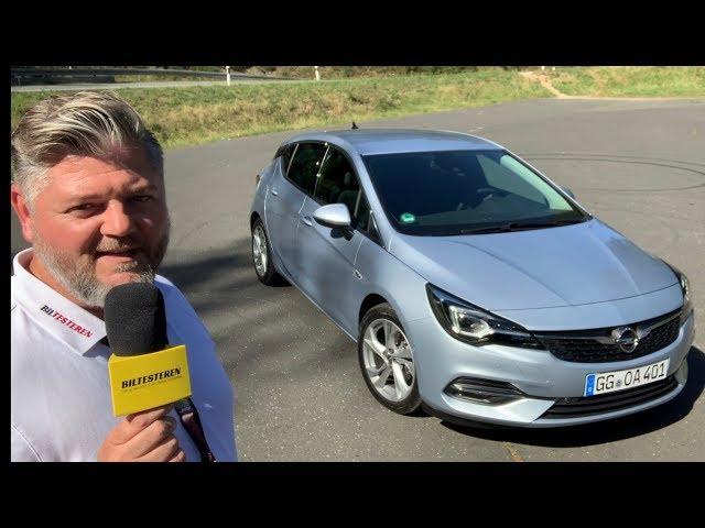 Opel Astra facelift (præsentation)