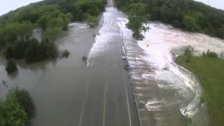 Lake Texoma Spillway overflow 5/25/15