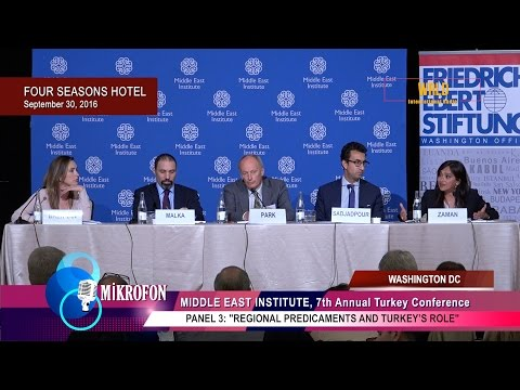 Regional Predicaments and Turkey's Role (full panel video)