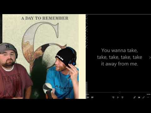 Pastor Reacts | A Day To Remember-Sometimes You're the Hammer, Sometimes You're the Nail
