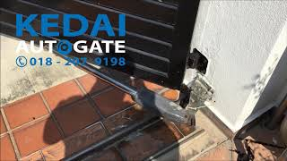 We Supply, Install & Repair Dnor Auto Gate System In Klang Valley