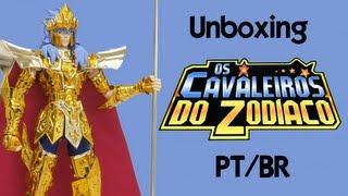 Caixa de pandora # 30 Unboxing CDZ - Poseidon Cloth Mith Crown (PT/BR)