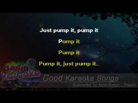 Pump It  - The Black Eyed Peas (Lyrics karaoke) [ goodkaraokesongs.com ]