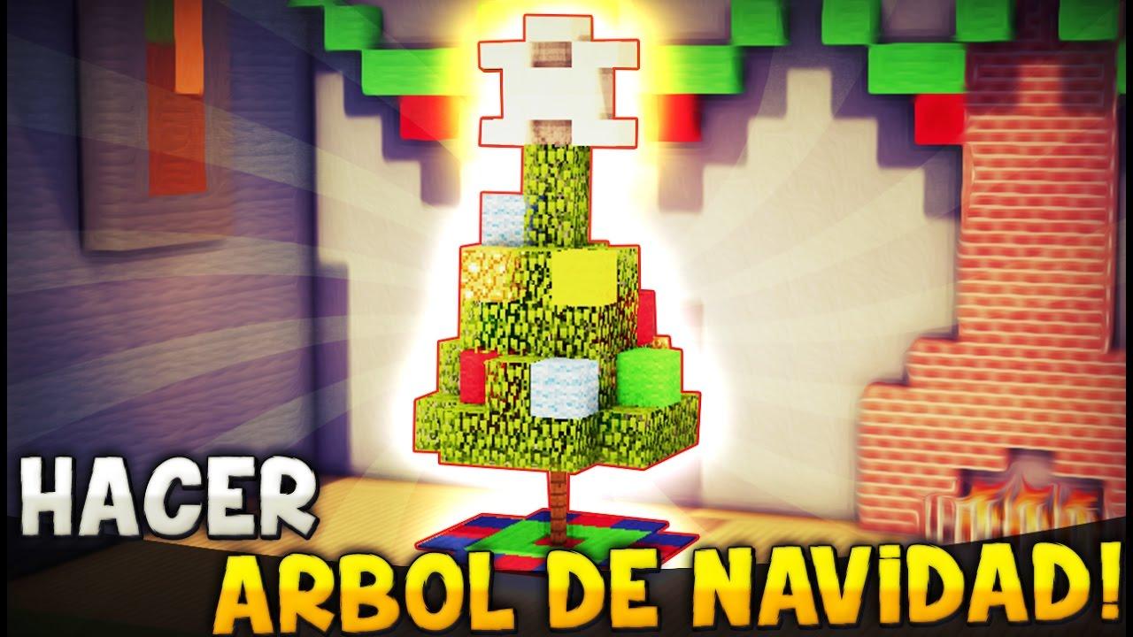 Casa arbol de navidad rojo y verde los colores de la for Cuartos decorados minecraft