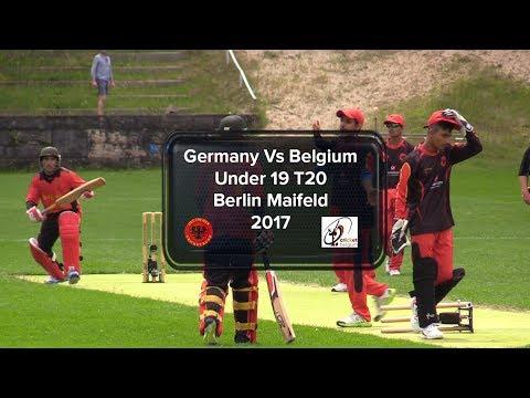 U19 Tournament Germany Vs Belgium Full Match Replay