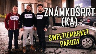 ZNÁMKOŠPRTKA (VYSVĚDČENÍ SONG) - SWEETIEMARKET PARODIE | Jounas & Radkolf feat. Franta Mráz