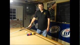 Billiard Trick Shot Tutorial #1: Four Ball Four Pockets (Chris Dryden)