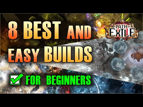 Download POE 3.14 - 8 BEST BUILDS for BEGINNERS of Path of Exile - Great League Starters and beyond!