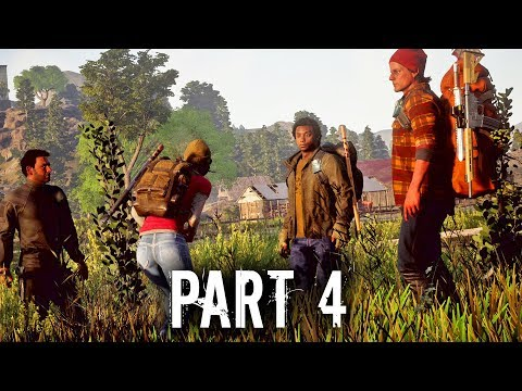State of Decay 2 Early Gameplay Walkthrough Part 4 - LOOTING