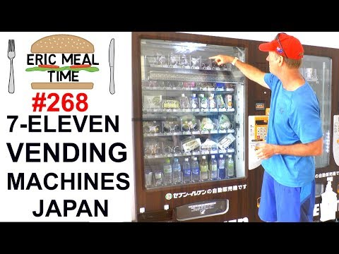 FOOD VENDING MACHINES, 7-ELEVEN JAPAN - Eric Meal Time #268