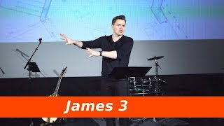 Change the heart to change the tongue James 3 Sermon