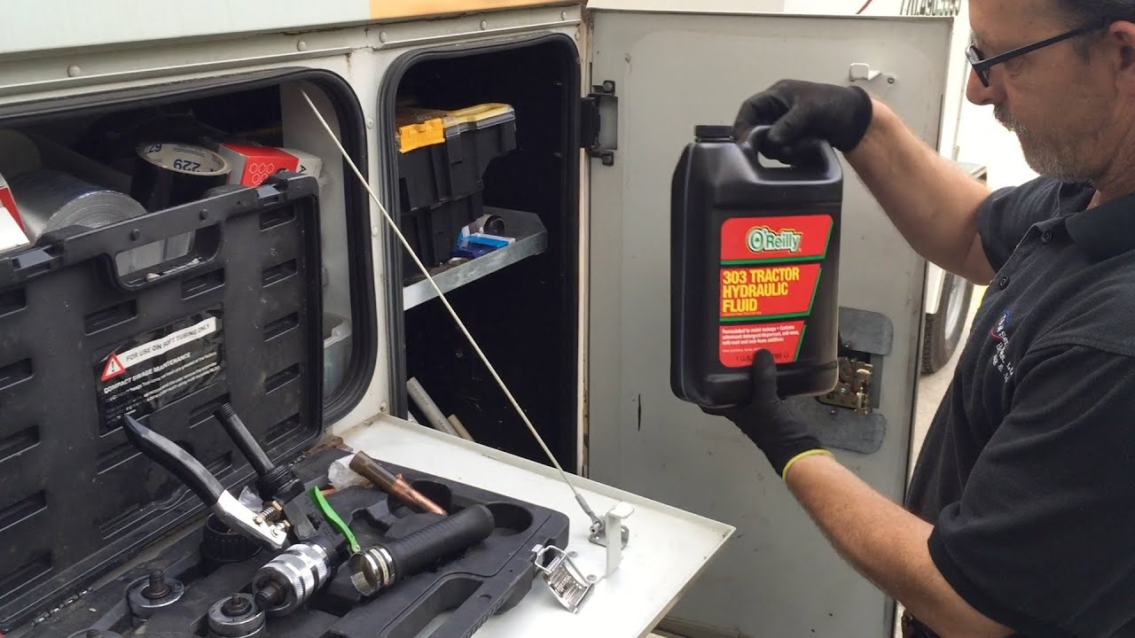 How To change hydraulic Oil On bad boy Mowers