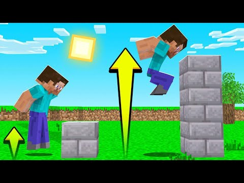 EVERY JUMP = JUMP HIGHER In Minecraft? (impossible)