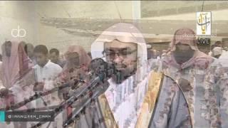 صلاة التهجد للشيخ ناصر القطامي من جامع الملك عبدالله ليلة 24 رمضان 1437 تلاوة مع الدعاء
