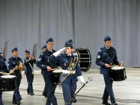 Moncton 101 Air Cadets band competition 2009 Part 1