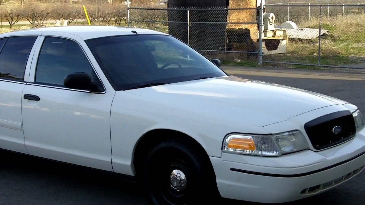2000 Ford Crown Victoria Police Interceptor Youtube