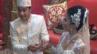 Resepsi pernikahan Rio Indrawan dan Mella - Was Was 27 Mei 2013