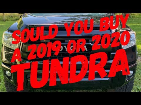 2019 vs 2020 Tundra Which Should You Buy