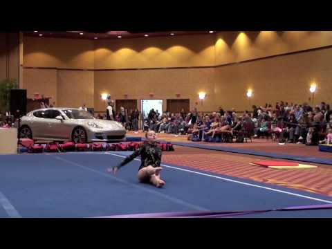 Brittany Bayer - Floor Routine - Kurt Thomas Invitational 2010