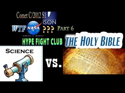 Comet Ison WTF NASA? Part 6 - Hype Fight...